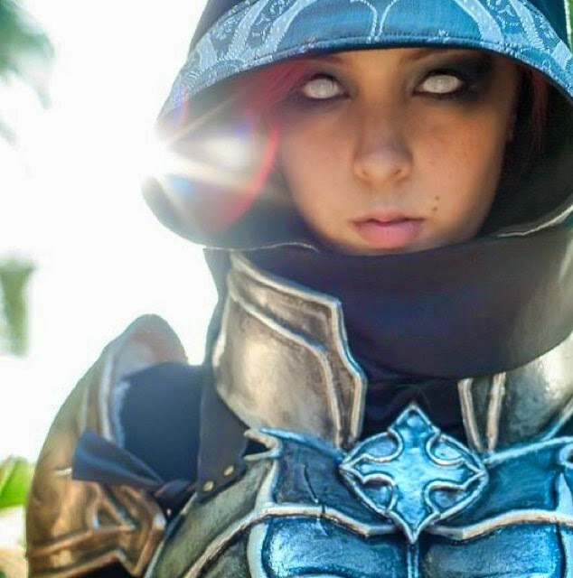 Sub-Zero Monika Lee Cosplay