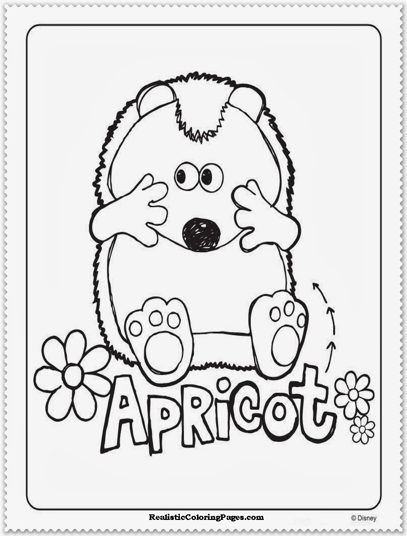 timmy time apricot characters colouring pages