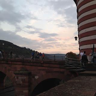 Abendstimmung Alte Brücke Heidelberg