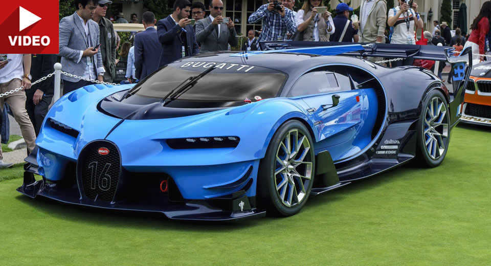 bugatti to make a road legal vision gran turismo and race it too. Black Bedroom Furniture Sets. Home Design Ideas