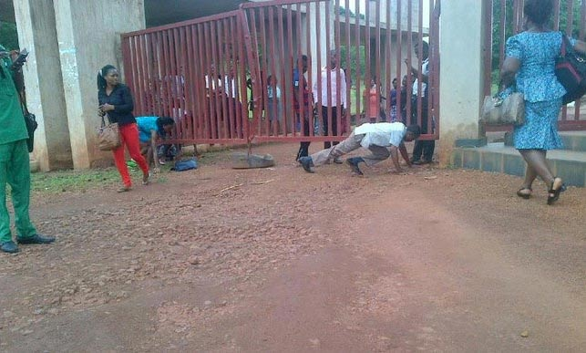 Univeristy Of Nigeria Enugu (UNEC) shut down, SUG suspended over students' protest
