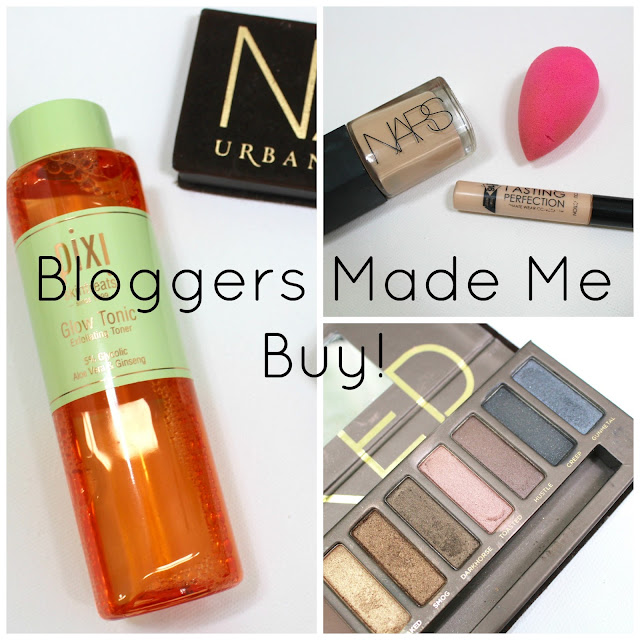 Bloggers made me buy