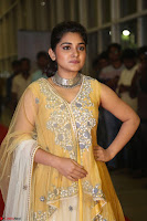 Nivetha Thamos in bright yellow dress at Ninnu Kori pre release function ~  Exclusive (5).JPG