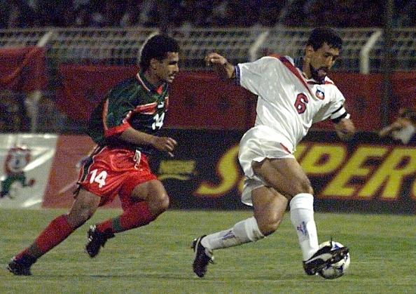 Marruecos y Chile en partido amistoso, 4 de junio de 1998