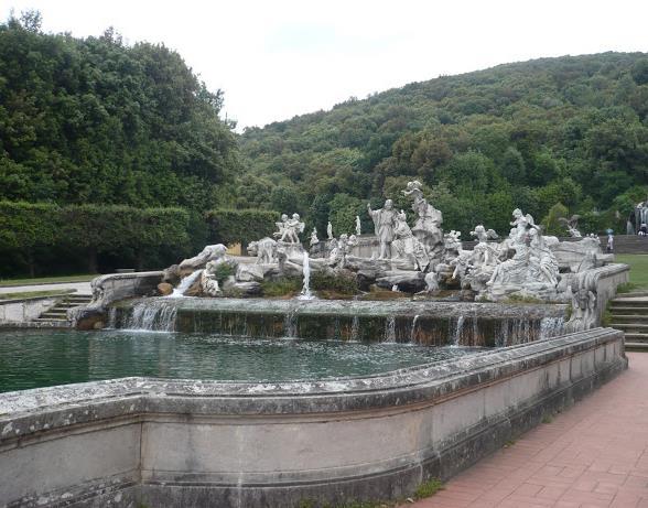 Fontana di Venere e Adone nella reggia di caserta