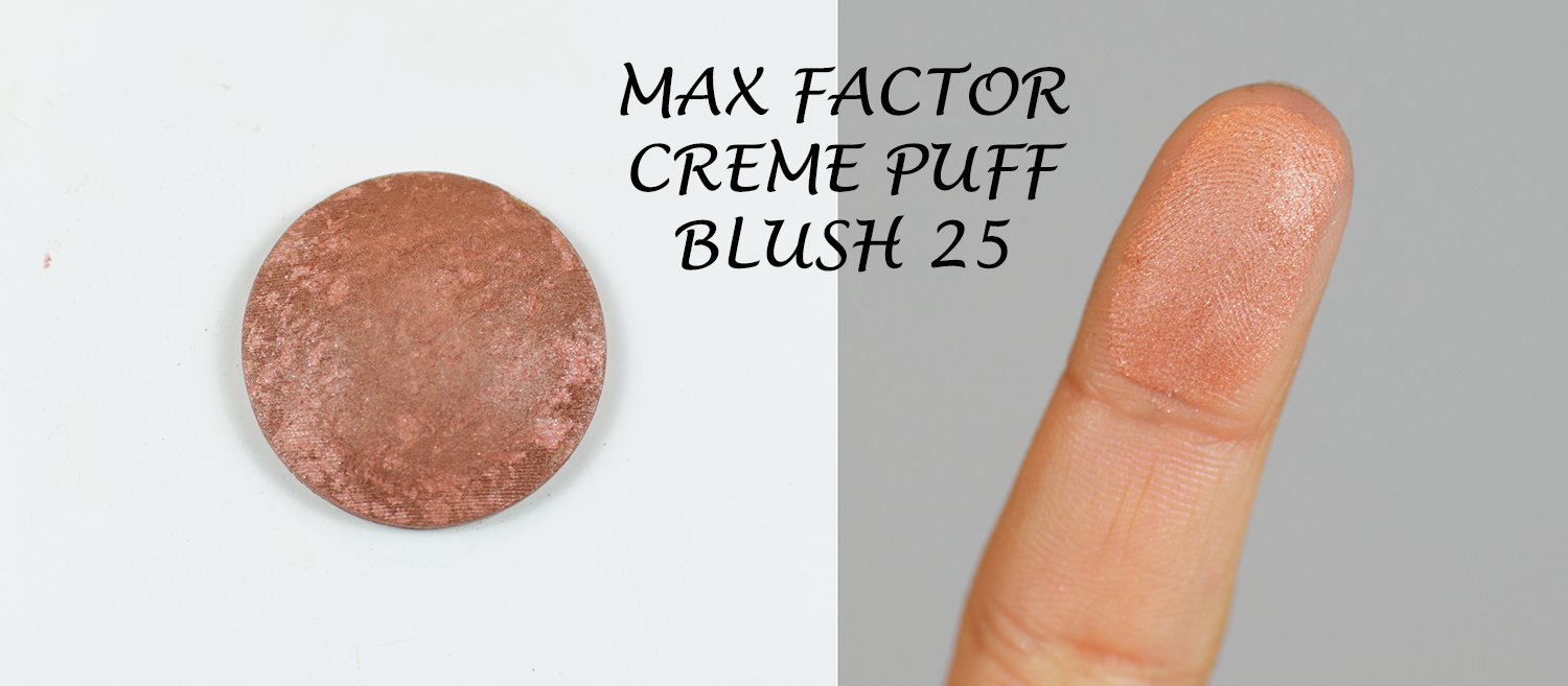 Max Factor Creme Puff Blush 25 Alluring Rose