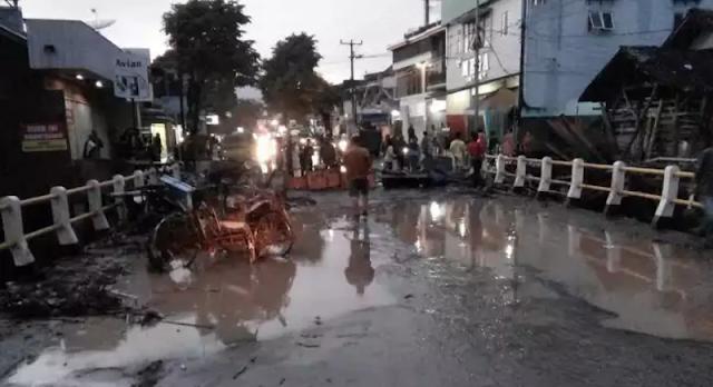 Banjir dan longsor garut 10 tewas