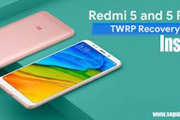 Cara Install TWRP Recovery dan Root Xiaomi Redmi 5 & 5 Plus | Root Xiaomi Redmi 5