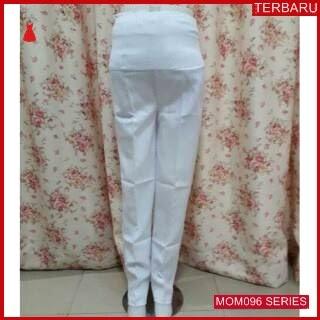 MOM096C15 Celana Hamil Putih L Formal Celanahamil Ibu Hamil