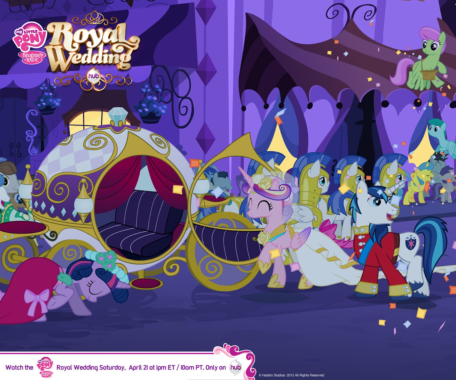 Equestria Daily - MLP Stuff!: Royal Wedding Website Launches