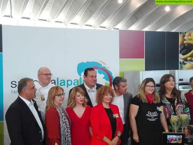"""El Queso Palmero se promociona en """"Gastrocanarias"""", a través de Saborea La Palma"""