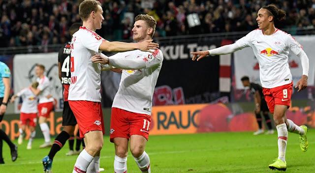 Sunday's Bundesliga Wrap:  Leipzig Beat Leverkusen To Go Third , While Eintracht Frankfurt Go Fourth After Win Against Schalke