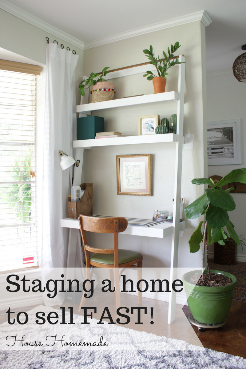 Tips and tricks for staging a home to sell FAST! | House Homemade