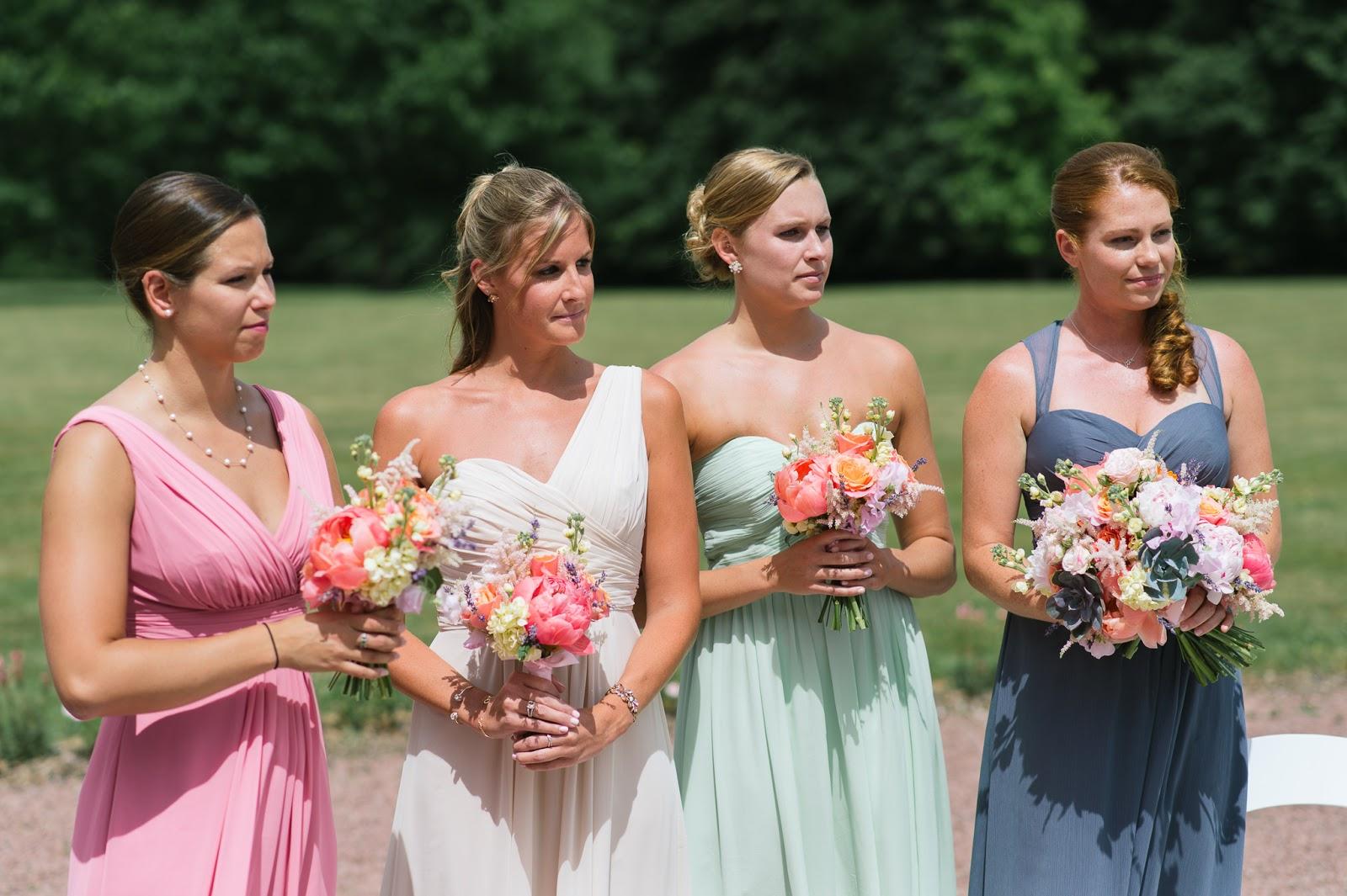 Pea Color Bridesmaid Dresses Wedding Gallery
