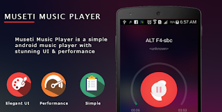 Museti Music Player With Admob