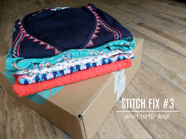 Sweet Turtle Soup - Stitch Fix Review #3