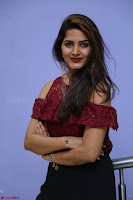 Pavani Gangireddy in Cute Black Skirt Maroon Top at 9 Movie Teaser Launch 5th May 2017  Exclusive 039.JPG