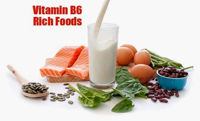 Vitamin B6 rich foods
