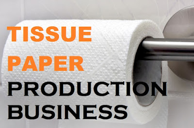 tissue paper production