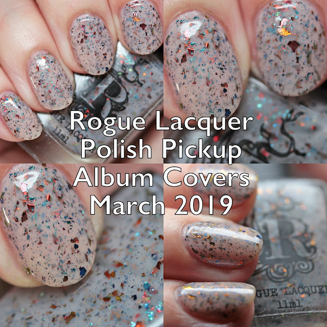 Rogue Lacquer Polish Pickup Album Covers March 2019