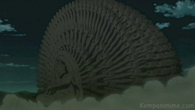 Jutsu terkuat milik hashirama senju untuk mengalahkan madara dan kyuubi