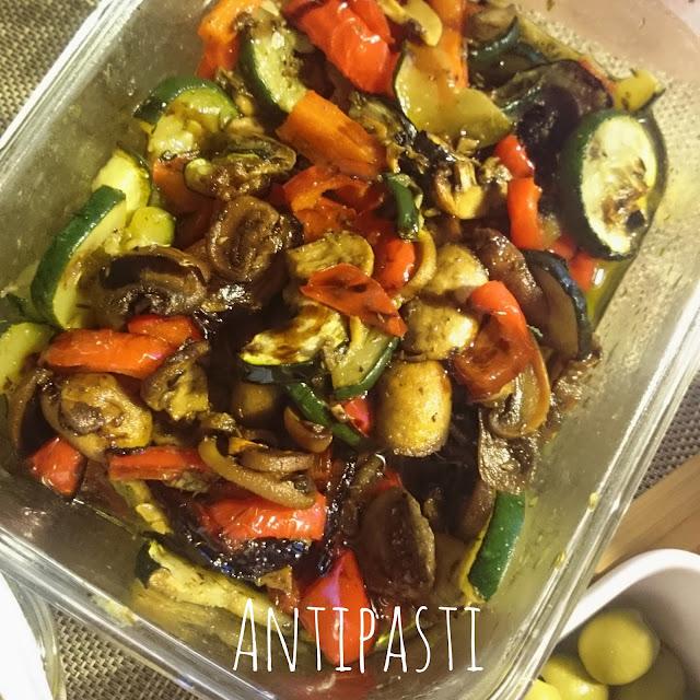 [Food] Selbstgemachtes Antipasti