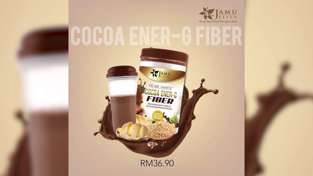 Pearl White Cocoa Ener G Fiber Jamu Jelita Beauty Kiosk