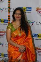 Marath Actrss Urmila Kanitkar Celetes Gudi Padwa in Orange Saree 28.JPG