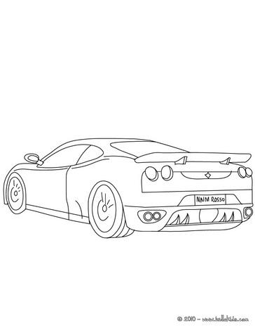 desenhar lindos desenhos de carros para colorir