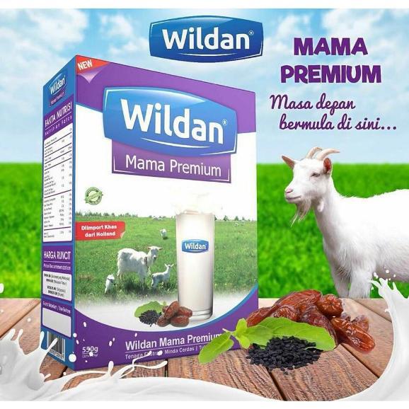 susu kambing wildan untuk ibu mengandung