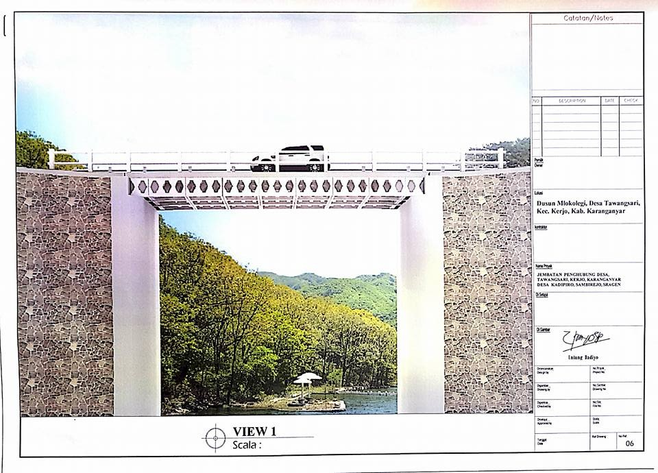 Proyek jembatan karang anyar jawa tengah