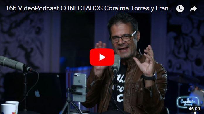 Luis Chataing entrevistando a Franklin Virgüez en su programa