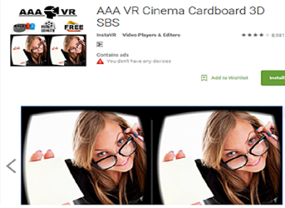 AAA VR Cinema VR App