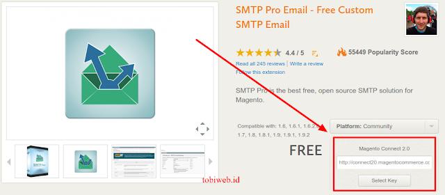 Tutorial Magento - Cara Custom SMTP Email Dengan SMTP Pro Di Toko Online Magento, Tuturial Magento Di WebHost Indonesia, plasa hosting, Balas otomatis melalui email, Kirim Newsletter Melalui Email. Gmail.
