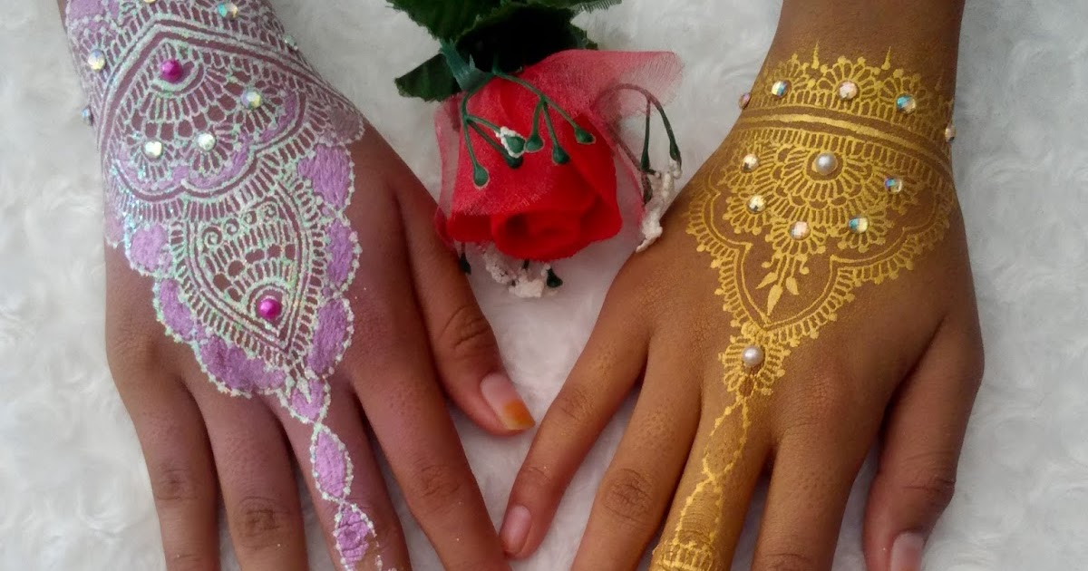 Informasi Lengkap Tentang Henna Putih Bling Bling White Henna