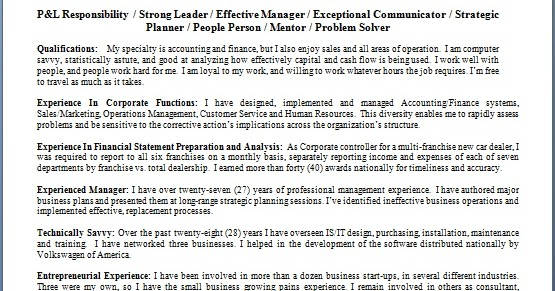 vice president finance resume format in word free download