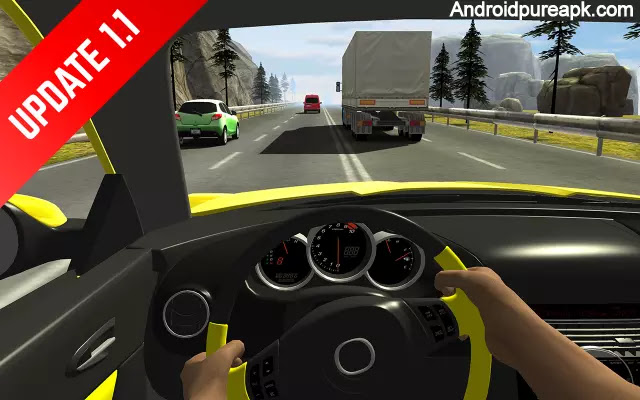 Racing in Car Mod Apk