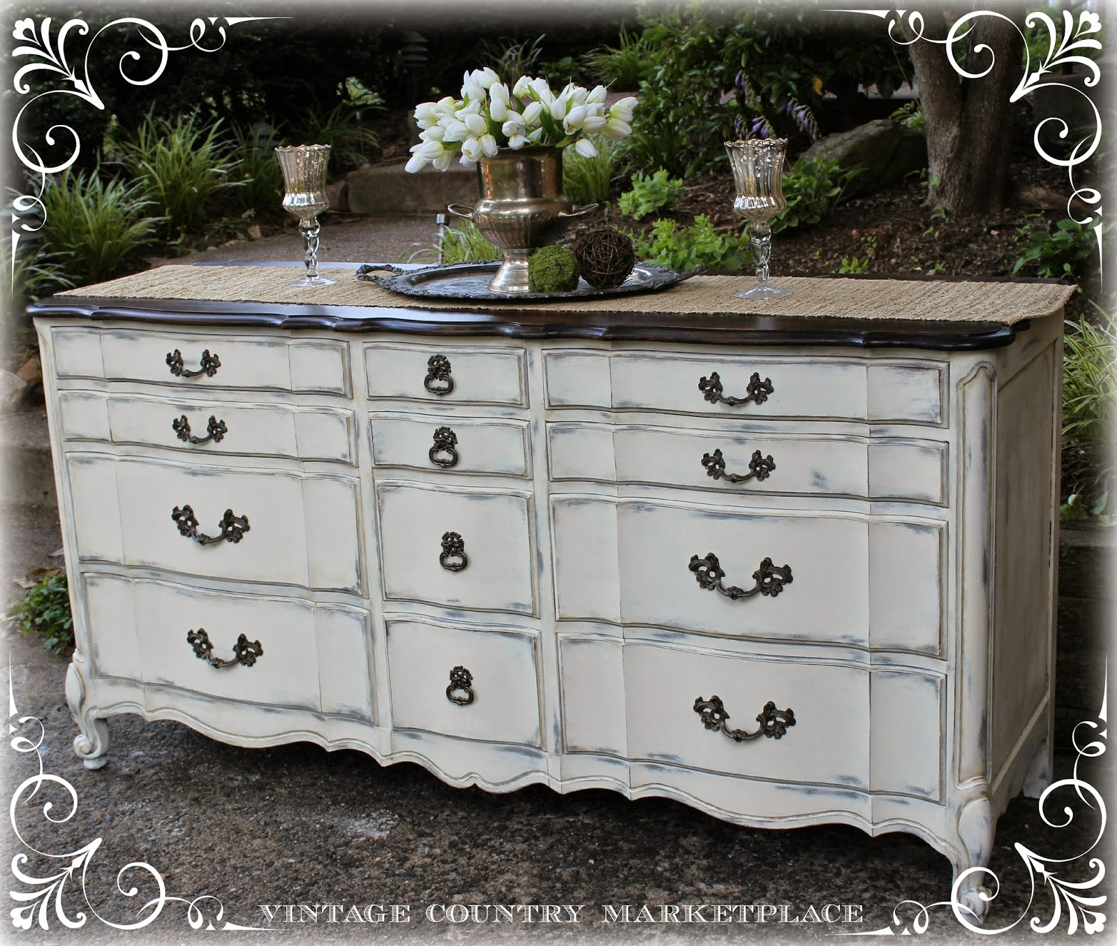 Vintage Country Style: French Provincial Dresser Annie