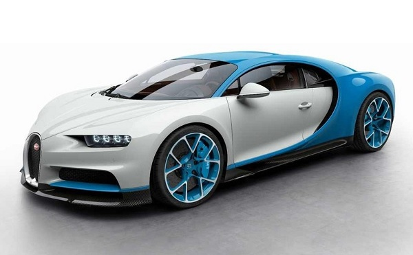 Ficha Técnica Bugatti Chiron (2016)