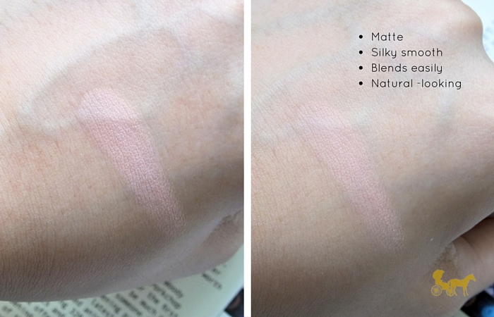 etude house lovely cookie blusher peach parfait review swatch 2