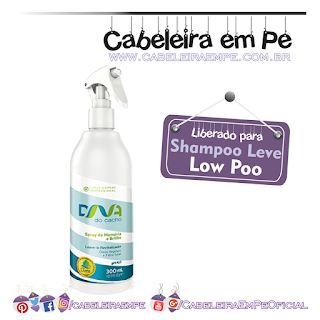 Spray de Memória e Brilho - DNA do Cacho - Salon Embelleze