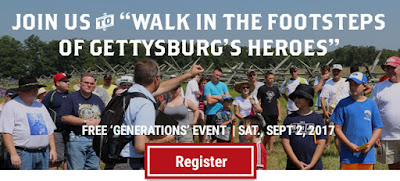 Walk in the footsteps of Gettysburg's Heroes