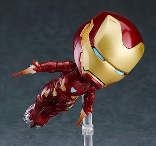 "Figuras: Imágenes y detalles del Nendoroid ""Iron Man Mark 50 Extension Set"" y ""DX Edition"" - Good Smile Company"