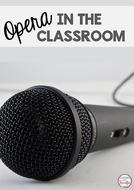 Opera and classical music in the classroom! Absolutely! Want your kids attention? Sing to them in an opera voice!