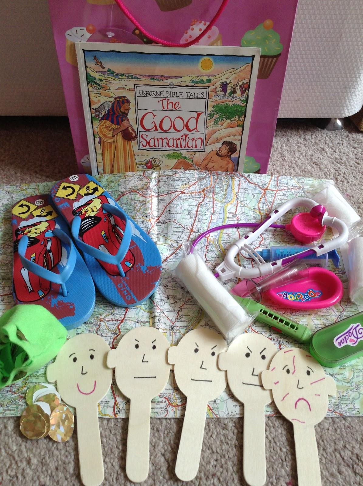 Flame Creative Children S Ministry Good Samaritan Story Bag