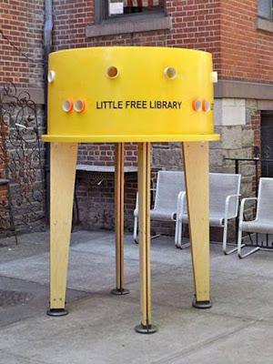 Perpustakaan super mini - Sekitar Dunia Unik
