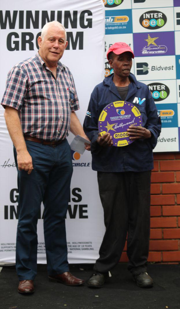 Grooms Initiative Winner - 26th December 2019 - Race 7 - Enoch Mkhaba - ROY'S RIVIERA