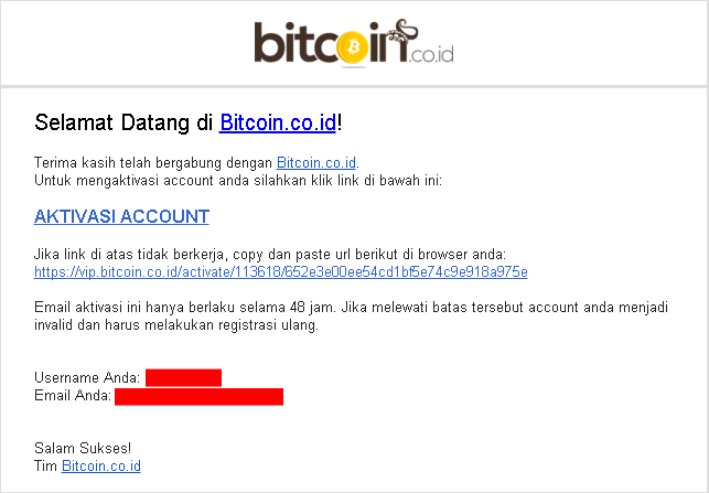 cara daftar akun bitcoin Indonesia