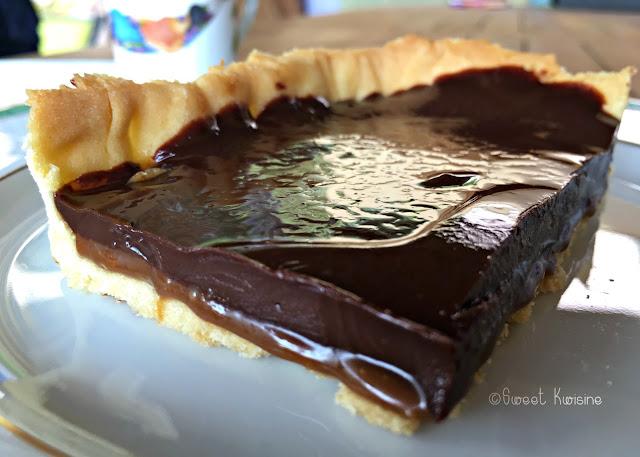 Sweetkwisine, CBS, caramel beurre salé, chocolat, tarte, ganache, végétarien, cuisine facile, pâtisserie, Martinique, caraibes, antilles