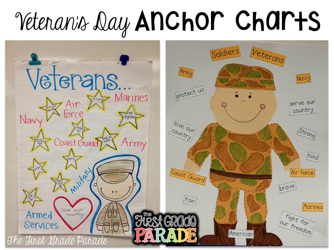 The First Grade Parade Celebrating Veteran S Day